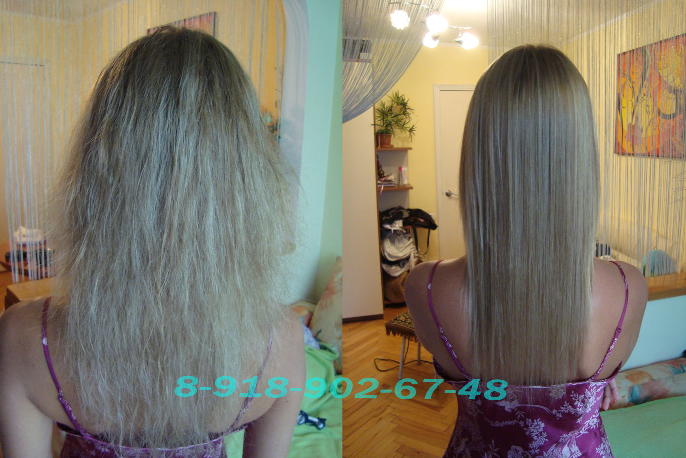 Чем убрать пористость волос